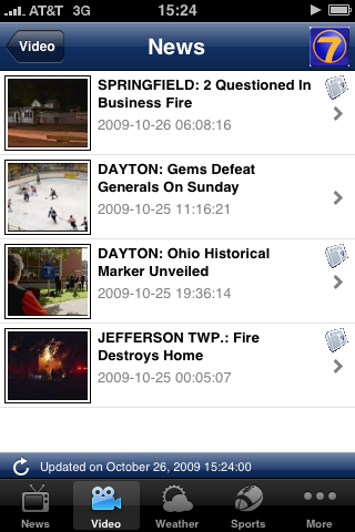 Image of WHIO-TV for iPhone