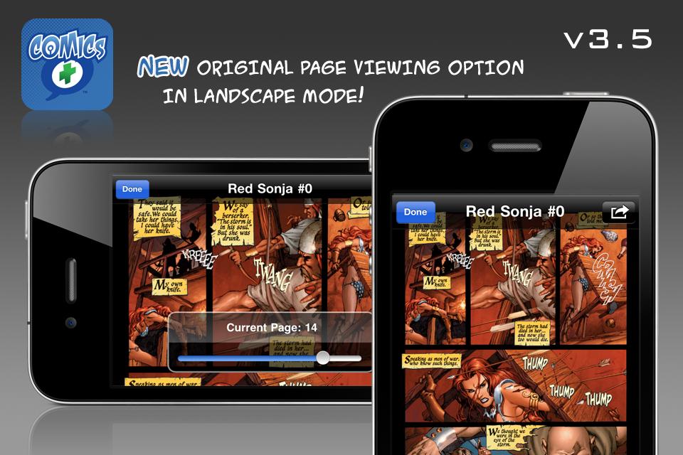 Comics + free app screenshot 1