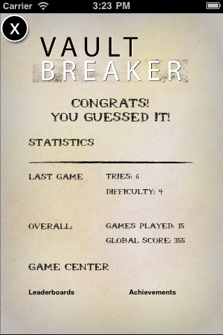 Vault Breaker : Full & Free logic puzzle game Screenshot
