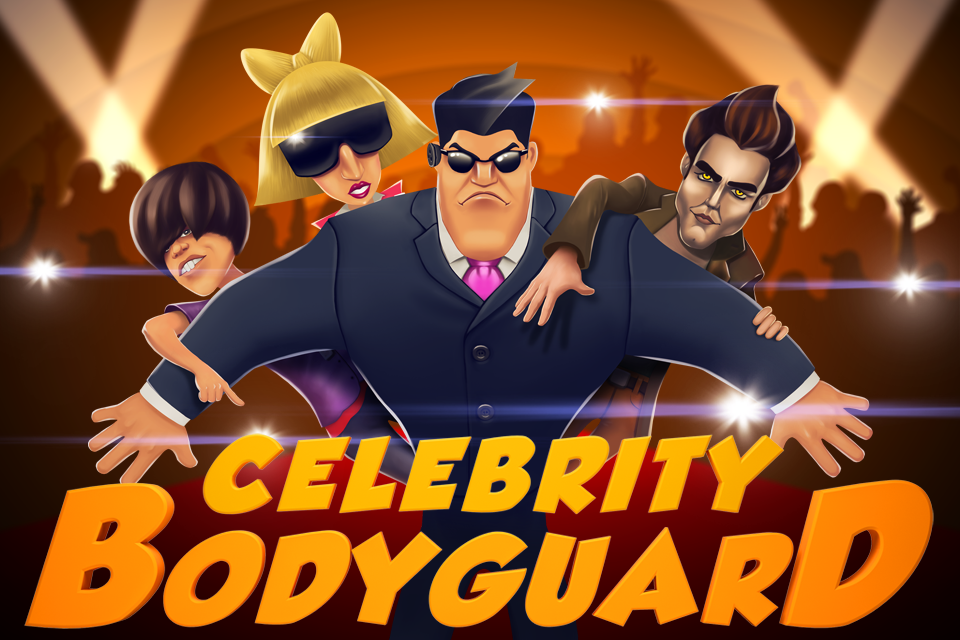 Popstar Bodyguard - A Free Girl Game on GirlsGoGames.com