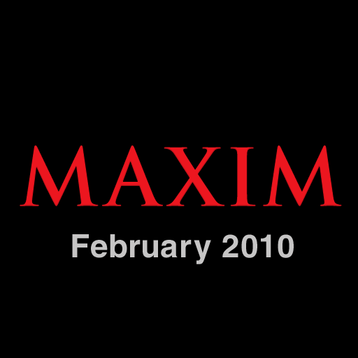 Maxim Magazine Full Issue - February 2010