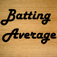Batting Average