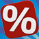 Percentages - Percent Calculator for iPhone