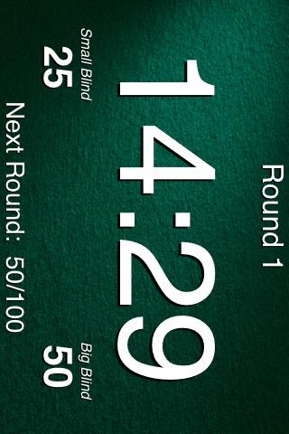 Five-Deuce Poker Tournament Timer