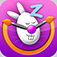 Easter Bunny Oversleep Mobile for iPhone