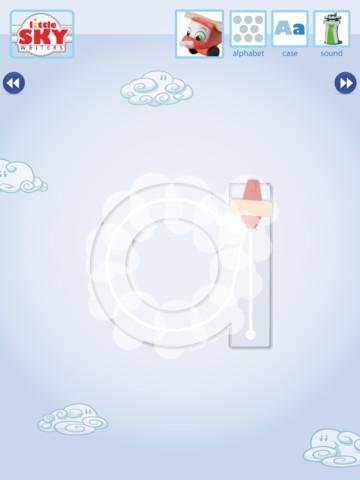 Little Sky Writers iPad Screenshot 1