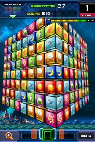 Match 3D Flick Puzzle