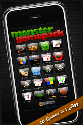 Monster Game Pack (20 Games in 1)