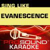 Sing Like Evanescence (Karaoke Performance Tracks), ProSound Karaoke Band