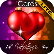 14th Valentine's Day iCards LITE icon