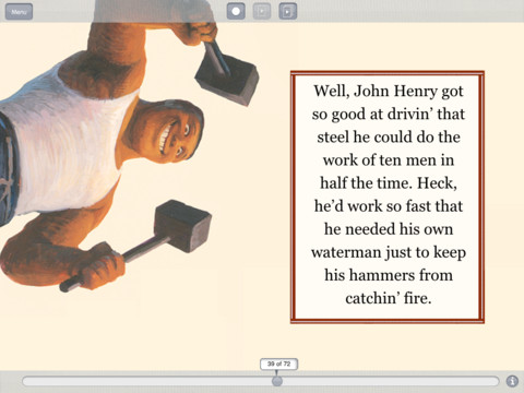 John Henry iPad Screenshot 1