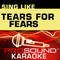 Sing Like Tears for Fears (Karaoke Performance Tracks)