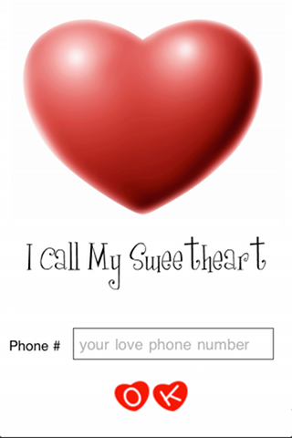 iCall My SweetHeart Free Edition Screenshot
