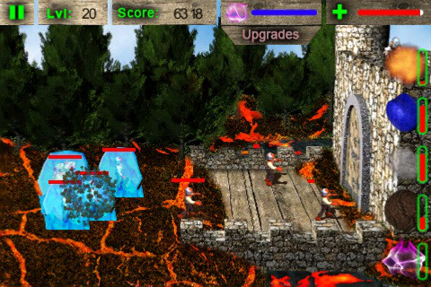 Elemental Defense iPhone Screenshot 1