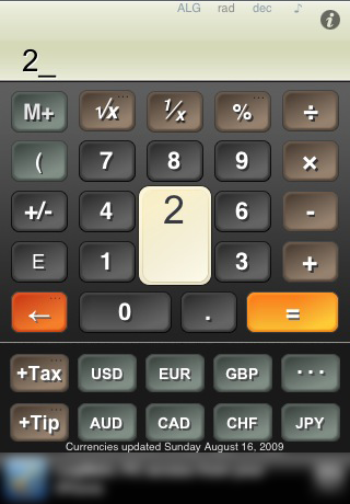 Calc Zero Currency a free currency conversion calculator