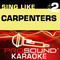 Sing Like the Carpenters, Vol. 2 (Karaoke Performance Tracks)