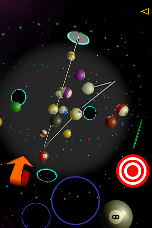 Cosmic Pool Screenshot