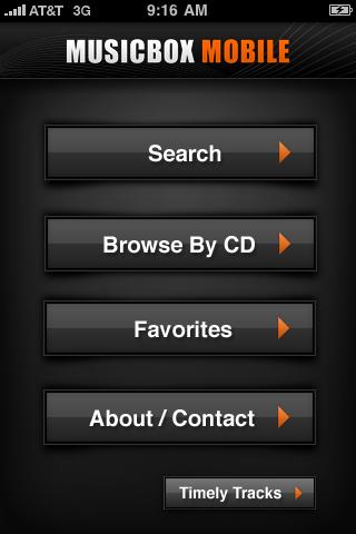 MusicBoxMobile free app screenshot 1