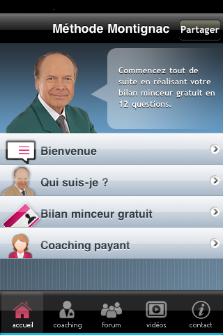 Copie d'écran 2 de l'application