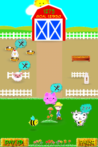 Barnyard Bustle : Farm Management Screenshot
