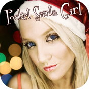 Pocket Girl - Interactive Video Xmas Santa icon