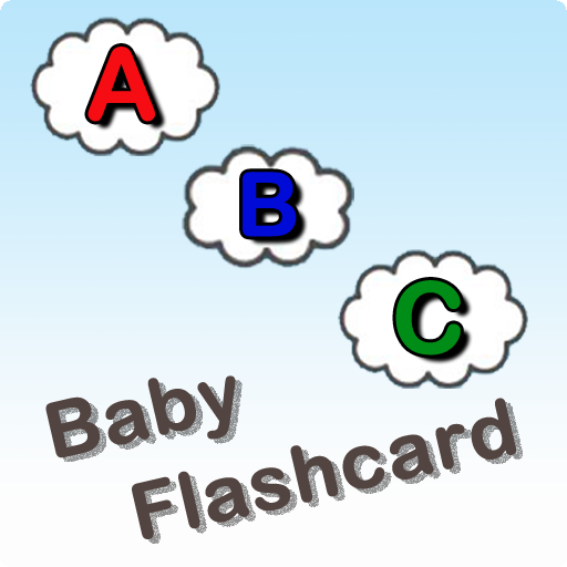 Baby flash card - Letters
