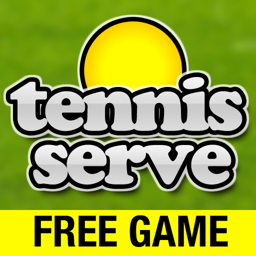 Tennis Serve - Like a real game of tennis!