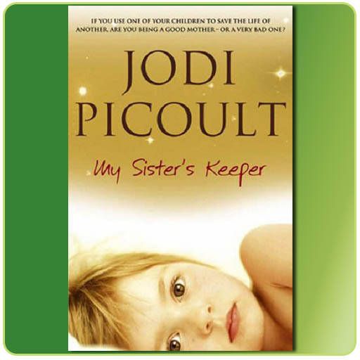 an analysis of the book my sisters keeper Ethical dilemma: my sisters keeper gina clerico, hannah dickie an ethical objectivist would probably do everything to keep katie alive even if it means to keep taking parts from anna because keeping both girls alive would be considered the universally moral thing to do.