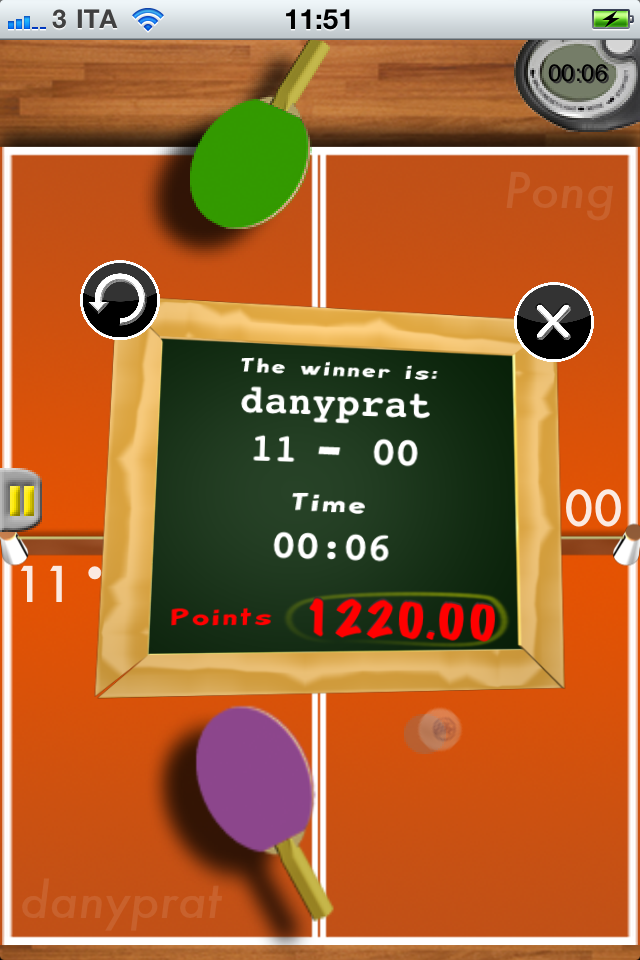 Pong-Phone Lite Screenshot