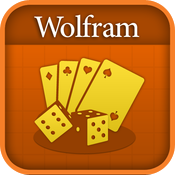 Wolfram Gaming Odds Reference App icon