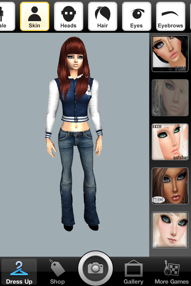 imvu create a avatar