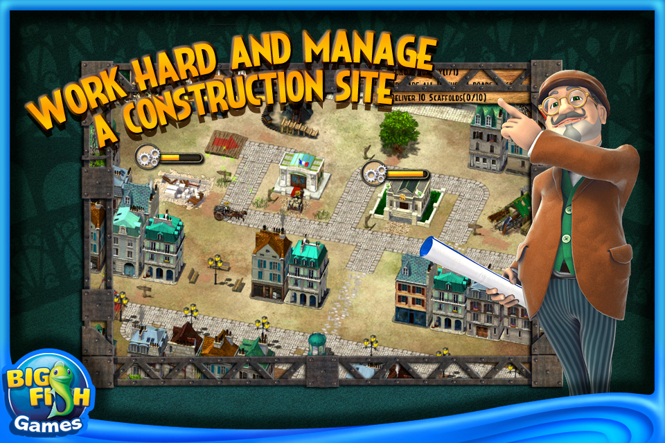 Monument Builders Eiffel Tower By Big Fish Games Inc