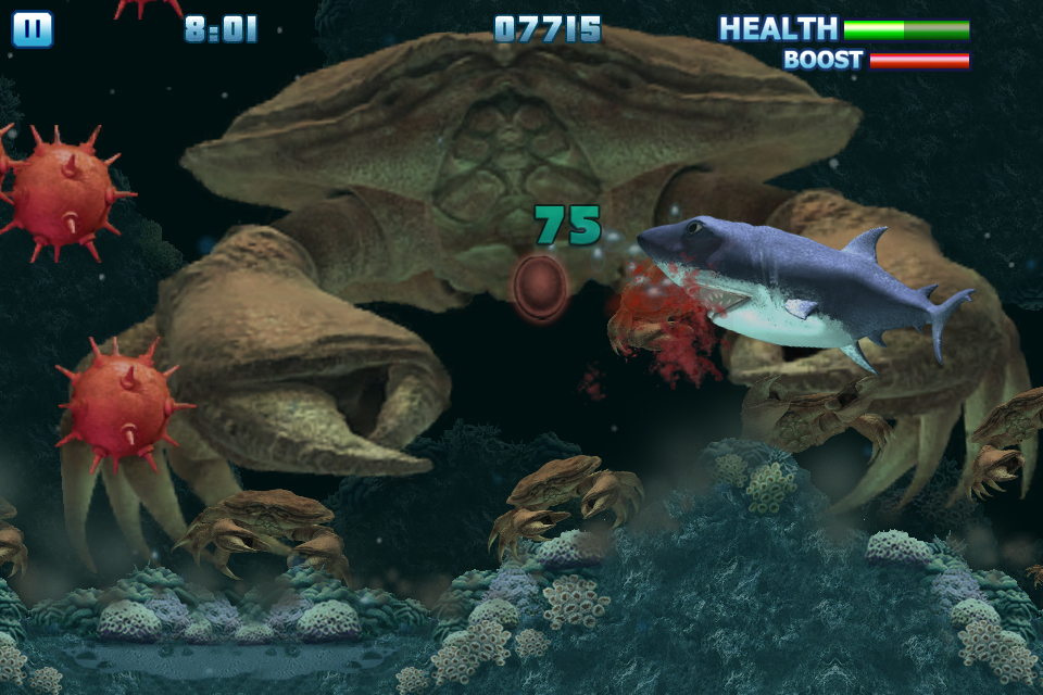 Hungry Shark screenshot 2