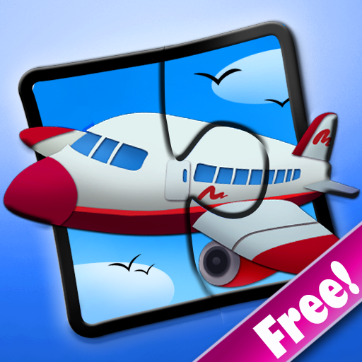 Transport Jigsaw Puzzles 123 Free for iPad - Fun Learning Game for Kids