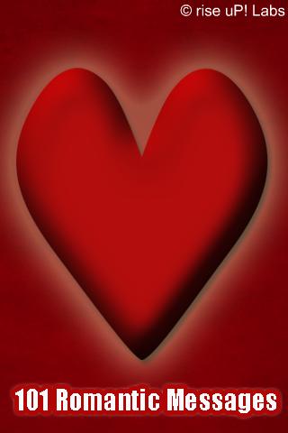 101 Romantic Messages free app screenshot 1