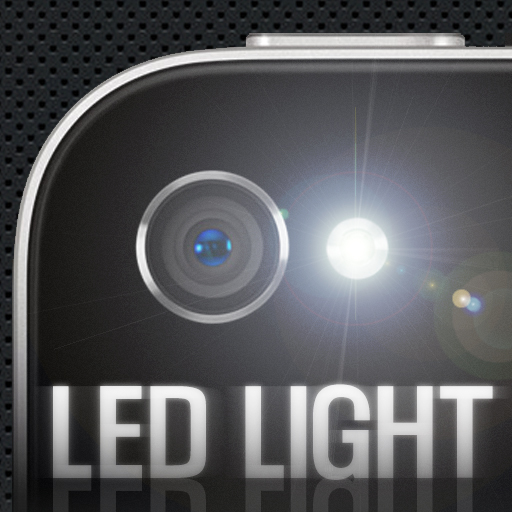 LED Light - for iPhone4 LED フラッシュライト - BLUE WIND