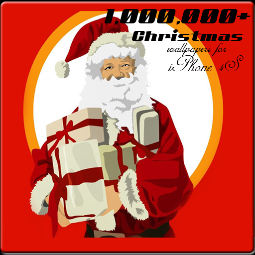 Christmas Wallpaper for iPhone 4 & 4S - 1,000,000+ Wallpaper (X-mas, Santa & New Year)