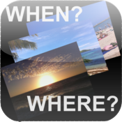 When & Where - Find out when and where you took that photo icon