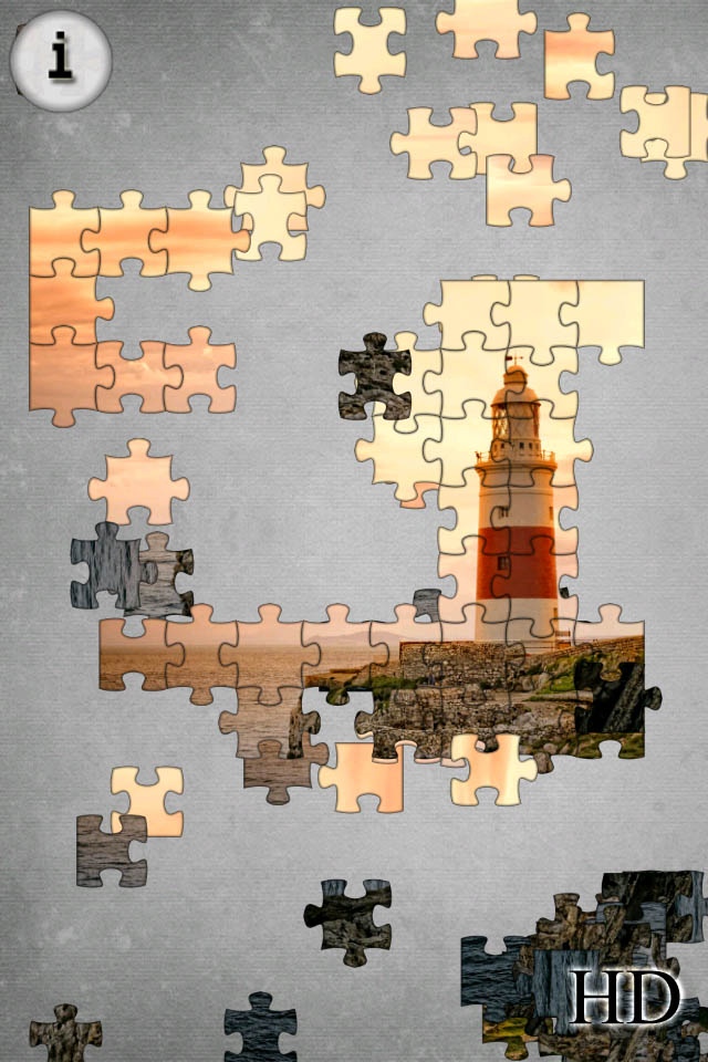Free Jigsaw App iPhone Game