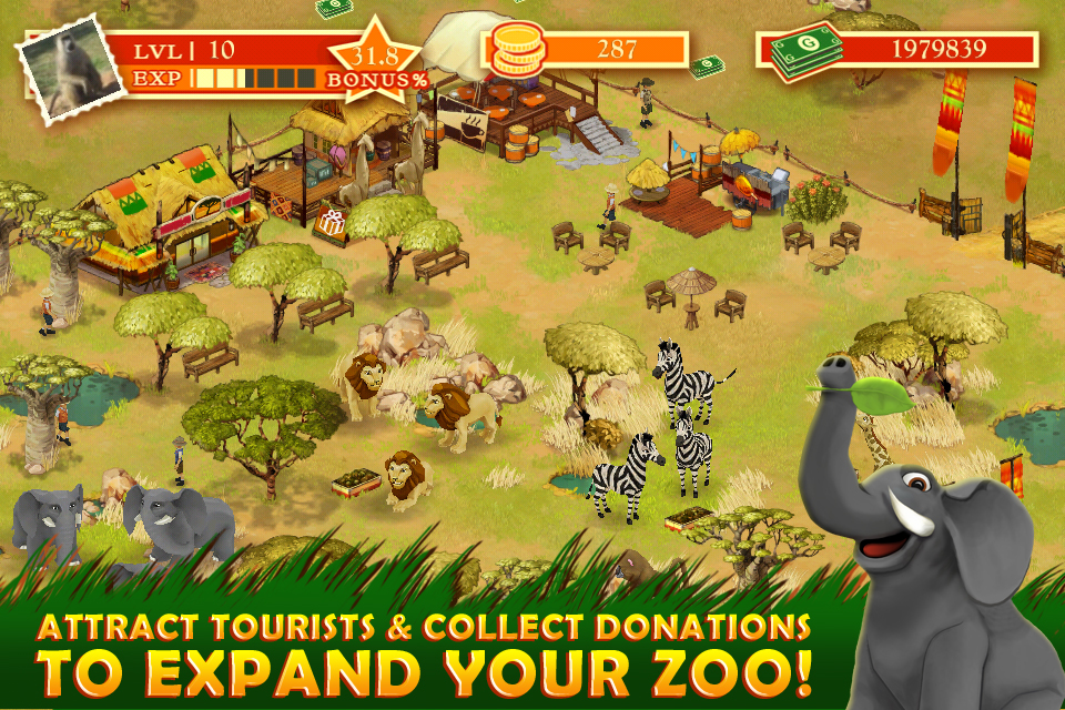 Safari Zoo screenshot 4