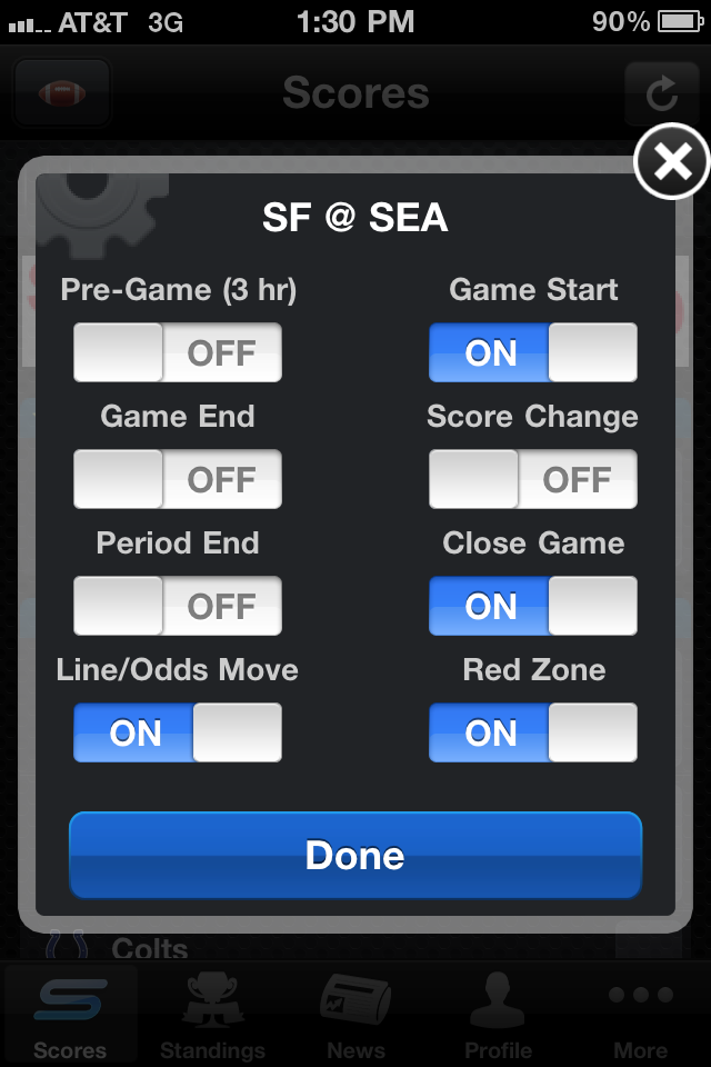 Yahoo! Sportacular Pro screenshot 4