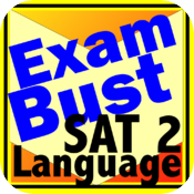 SAT 2 Spanish, French, German, Italian Flashcards Exambusters icon