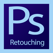 Retouching Photos Photoshop CS 6 Edition icon