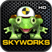 Slyde the Frog™ HD Free - the Feverish Froggy Flying Fun Fest Game! icon