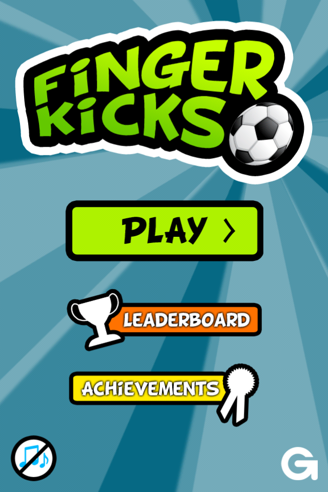 FingerKicks Screenshot