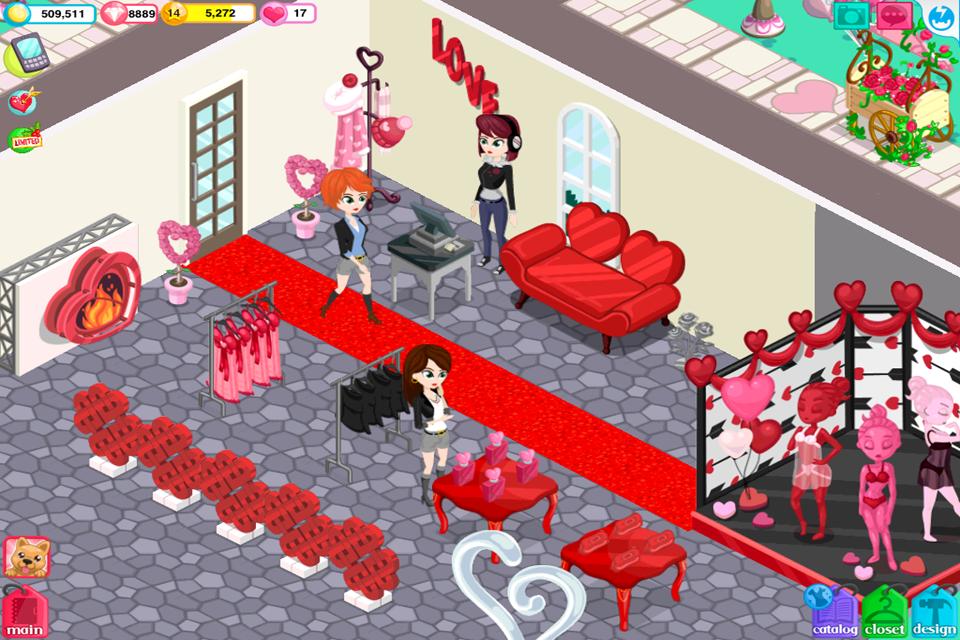 Fashion Story: Valentine's Day screenshot 2