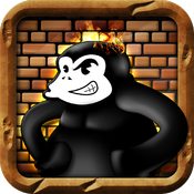 Monkey Labour - 80s handheld LCD retro game icon