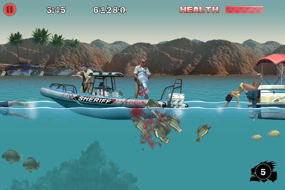 Piranha 3DD Games Entertainment Arcade Action free app for ...