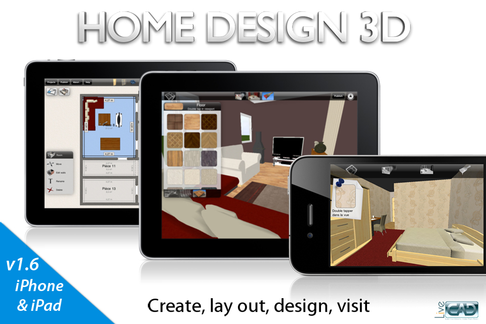 Beappy home design 3d classic anuman for Crea la tua casa 3d