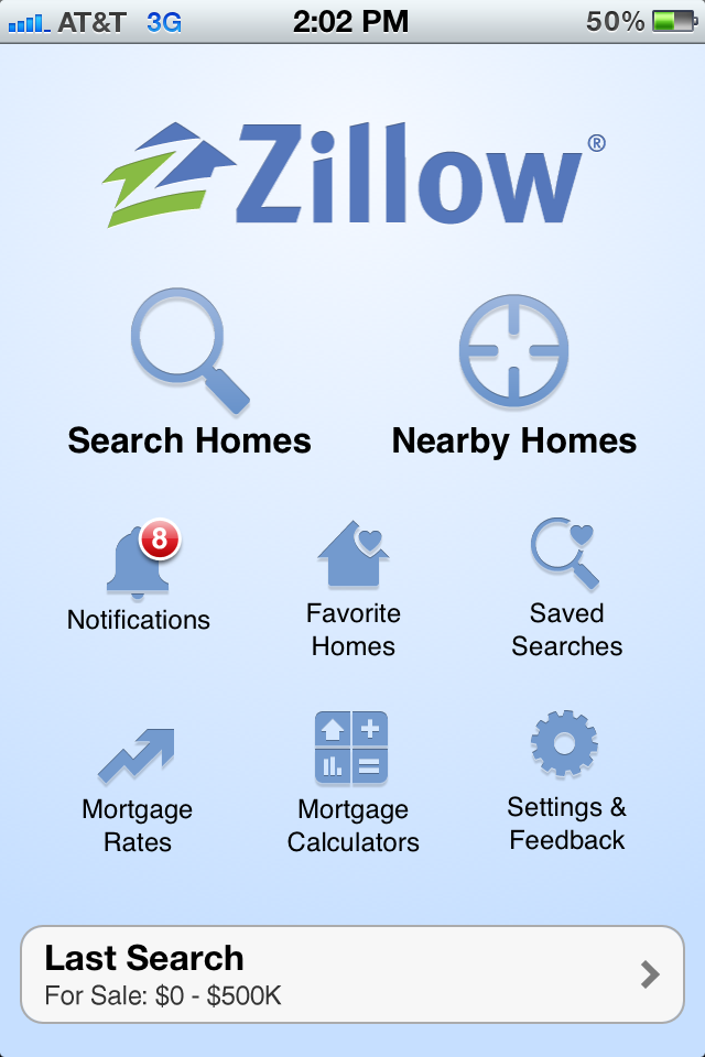 Zillow Real Estate -- Homes  Apartments For Sale or Rent